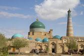 Bazaar på väggarna av den arkitektoniska helheten av det xi århundradet - islam khoja — Stockfoto