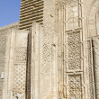 Fragment of a wall madrassas — Stock Photo