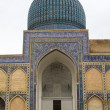Ancient mosque in the city of Samarkand, Uzbekistan — Stock Photo #34898511