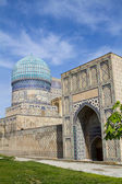 Madrassah near the central bazaar in Samarkand, Uzbekistan — Stock Photo
