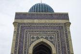 Náboženské budovy nad hrobku muslimského světce — Stock fotografie