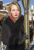 Beautiful Slavic girl — ストック写真