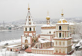 Bogoyavlensky Cathedral in the Irkutsk — Stock fotografie