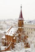 Chiesa cattolica di uspenija della vergine a irkutsk — Foto Stock
