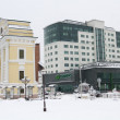 Stock Photo: Sberbank new building in Irkutsk