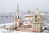Богоявленский собор в Иркутске — Стоковое фото