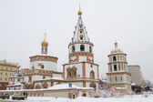 Bogoyavlensky Cathedral in the Irkutsk — Stockfoto