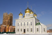 Uspensky Cathedral in the territory of the Tula Kremlin — Stockfoto