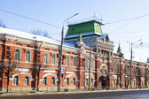 Market rows - 19th-century building in Tula — Stock Photo