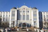 Administration Building of the Russian railways in Samara — Stockfoto