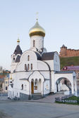 Church of the Icon of Our Lady of Kazan in Nizhny Novgorod — Stock Photo