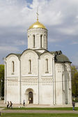 Demetrius Cathedral in Vladimir — 图库照片