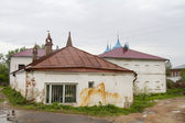 Very old stone building in Gorohovets — Stock Photo