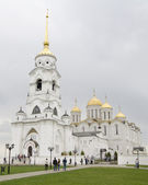 VLADIMIR, RUSSIA - MAY 02: Holy Dormition Cathedral on May 2, 2014 in Vladimir. — Foto Stock