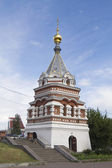 Seraphim Alekseevskaya chapel in Omsk — Stock Photo
