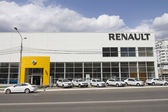 Renault car dealership building in the Vladimir region — Foto Stock