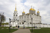 Holy Dormition Cathedral on May 2, 2014 in Vladimir — Stock Photo