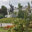 Monument To Petro Sahaidachny,Kiev,Ukraina — Stock Photo