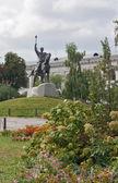 Monument To Petro Sahaidachny,Kiev,Ukraina — Stock Photo