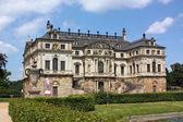 Wielki ogród w dreźnie, niemcy — Zdjęcie stockowe