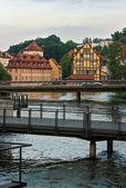 Puentes, bamberg, alemania — Foto de Stock