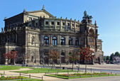 Semperoper in Dresden,Saxony,Germany — Stock Photo