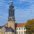 Town Castle in Weimar, Germany — Stock Photo