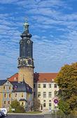 Zamek w weimar, niemcy — Zdjęcie stockowe