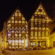 Erfurt in the evening, Germany — Foto de Stock