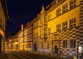 Erfurt in the evening, Germany — Stock Photo