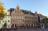 Fischmarkt square, Erfurt, Germany — Stock Photo