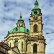 The Church of Saint Nicholas, Prague — Stock Photo