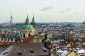 Kind to Prague from the Prague castle — 图库照片