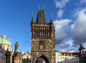 Charles Bridge, Prague — 图库照片