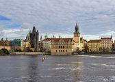 Smetana-Damm, Prag — Stockfoto