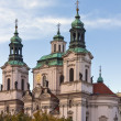Stock Photo: St. Nicholas Church in the Old Town Square,Prague
