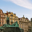 Jan Hus Memorial, Prague — Stock Photo