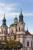 St. Nicholas Church in the Old Town Square,Prague — Stock Photo