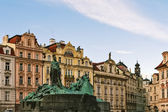 Jan Hus Memorial, Prague — Foto Stock