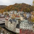 Historical center of Karlovy Vary — Stockfoto