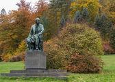 Monument of Bedrich Smetana, Karlovy Vary — Stock Photo