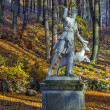 Sculpture of Artemis, Karlovy Vary — Stock Photo