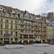 City center of Karlovy Vary — Stock Photo