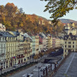 Royalty-Free Stock Photo: City center of Karlovy Vary