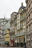 Street in Karlovy Vary — Stock Photo