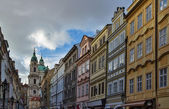 Letenska street in Prague — Stock Photo