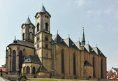 Church of St. Nicolas, Cheb, Czech Republic — Stock Photo