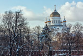 Cathedral of Christ the Saviour,Moscow,Russia — Stock fotografie