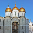 Dormition Cathedral, Moscow - Stock Photo