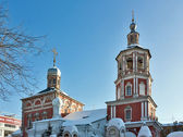 Introduction church in Barashah, Moscow — Stock Photo